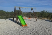Arcadia Casa Rural Columpios/Arcadia Country House playground
